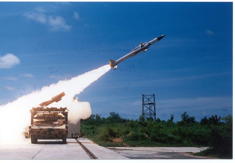 Air Force version of Akash missile