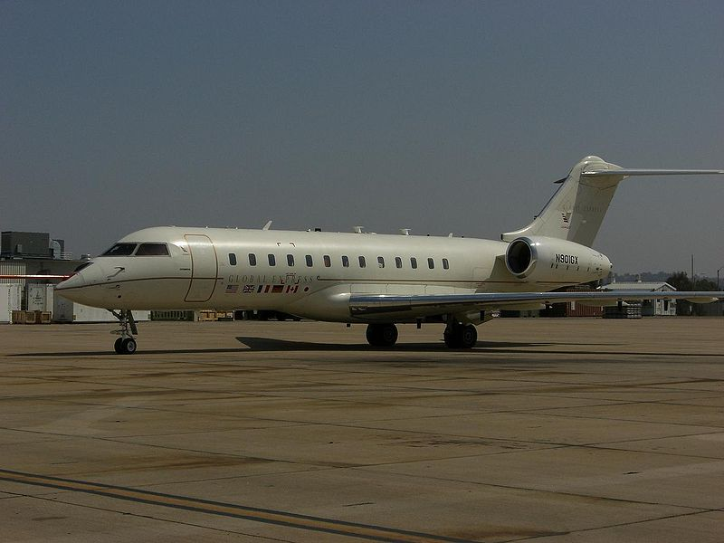 Bombardier Global 6000 aircraft