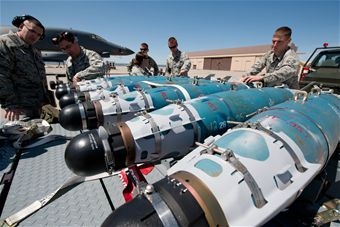GBU-54 laser Joint Direct Attack Munitions