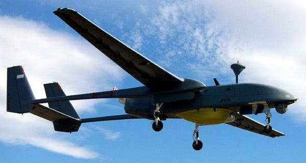Heron TP unmanned aerial vehicle (UAV)