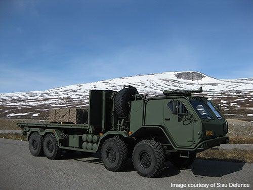 E13TP 8x8 truck