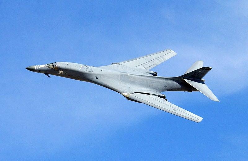 USAF's B-1 Lancer