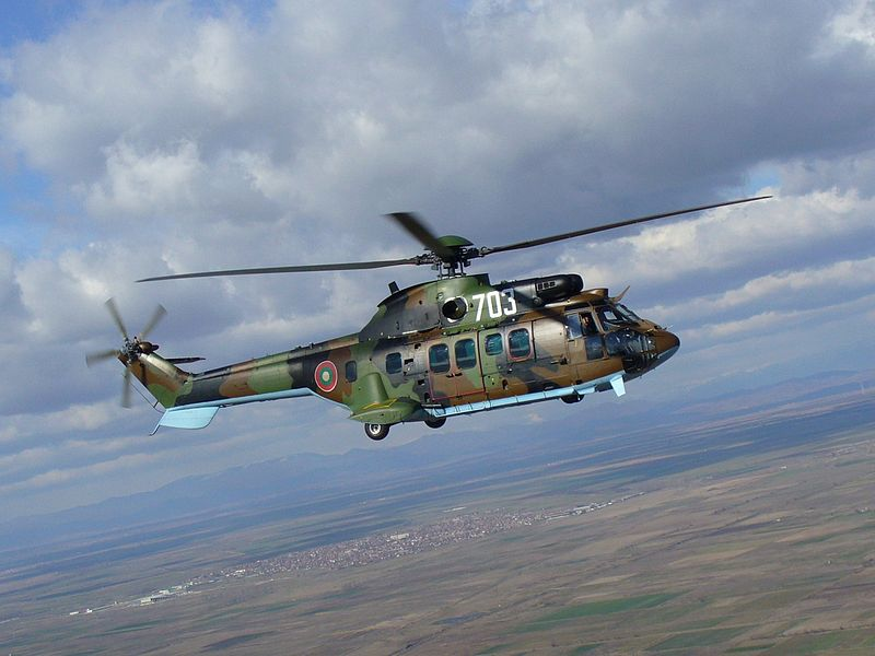 AS532AL Cougar helicopter