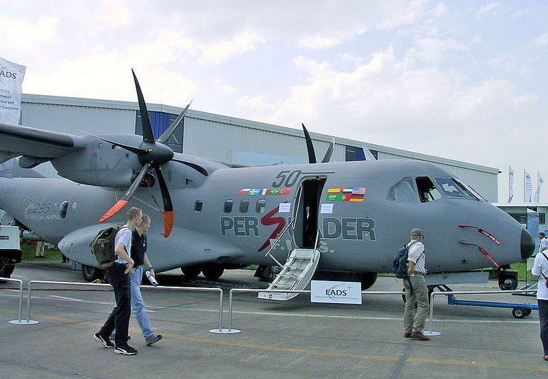 C295 military transport aircraft