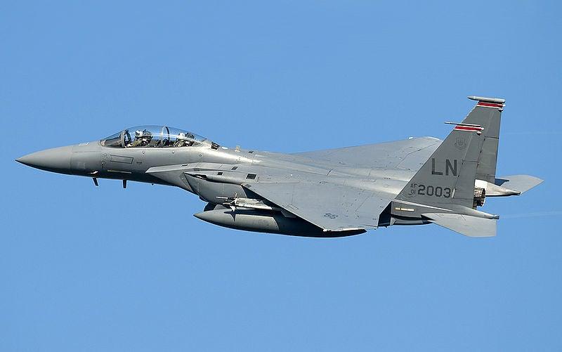 USAF's F-15E Strike Eagle