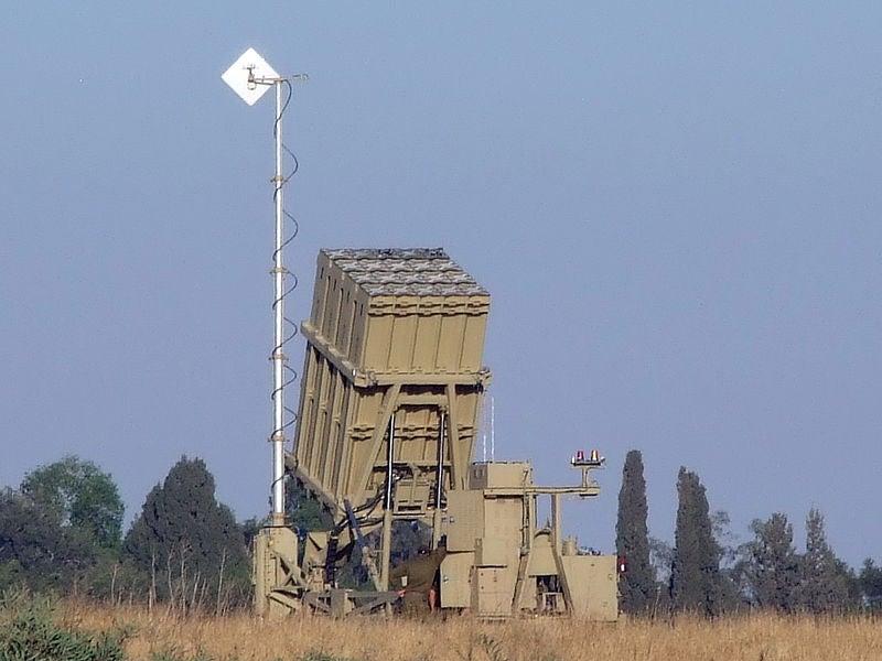 Israel's Iron Dome CRAM launcher