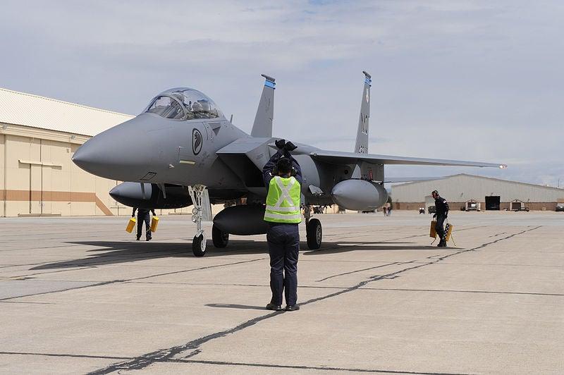 F-15SG aircraft