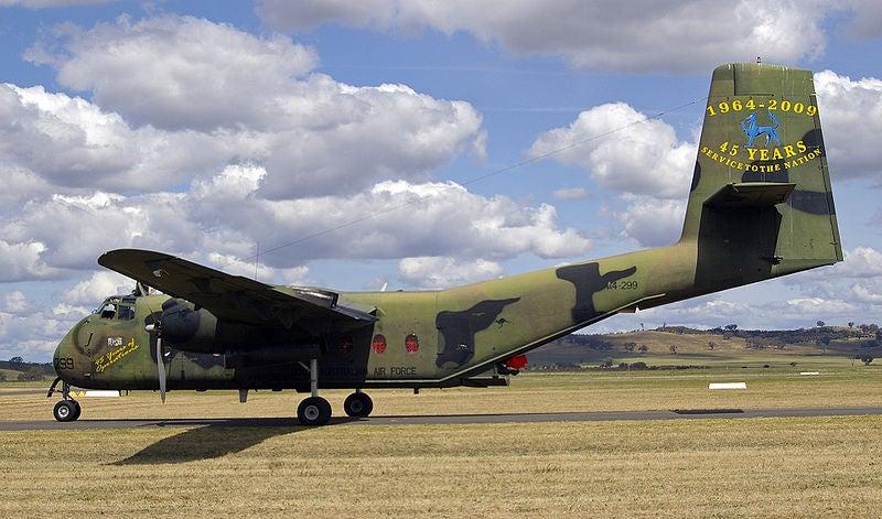 C-27J Spartan battlefield airlift aircraft