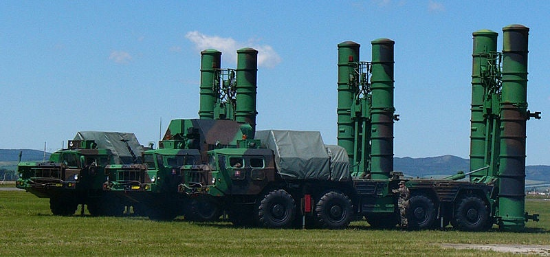 urface-to-air missile systems (SAM), S-300V