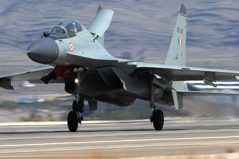 Indian Air Force SU-30 Fighter