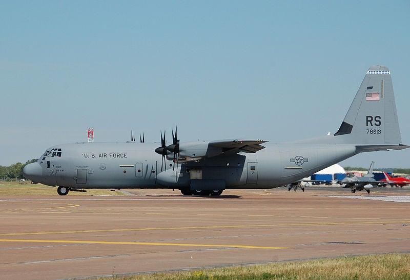 USAF C130J Hercules