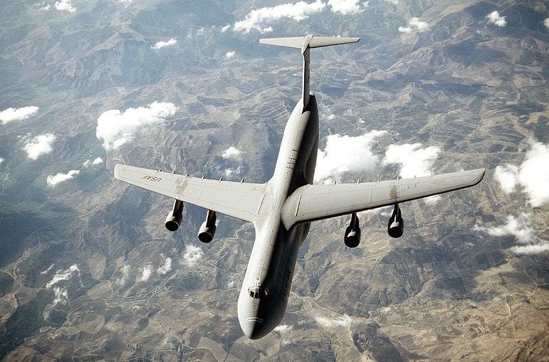USAF C-5 Galaxy aircraft