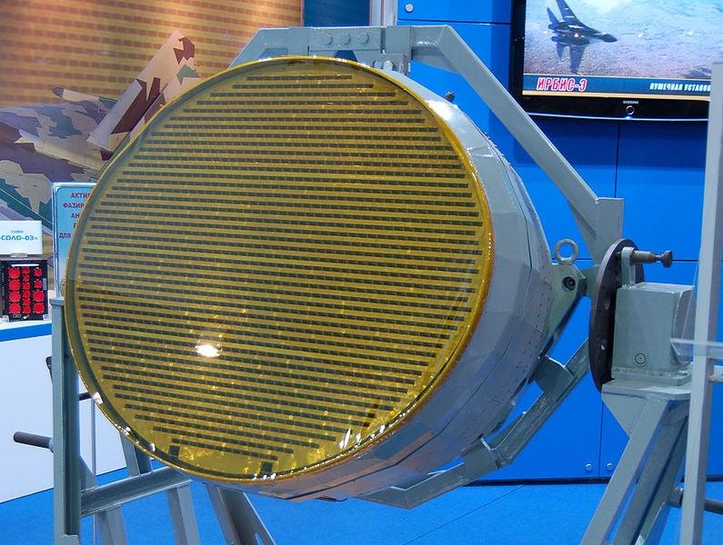 T-50 AESA radar