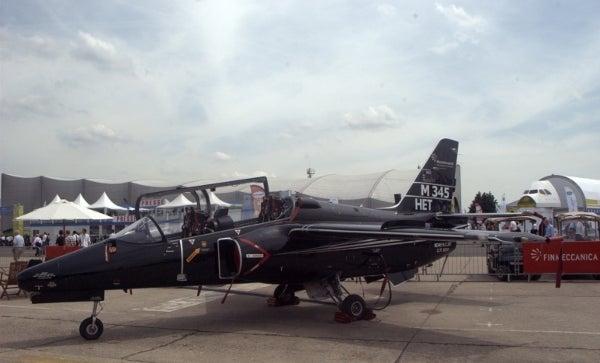 M-345 HET aircraft