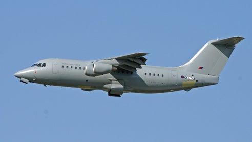 BAe 146-200 QC aircraft