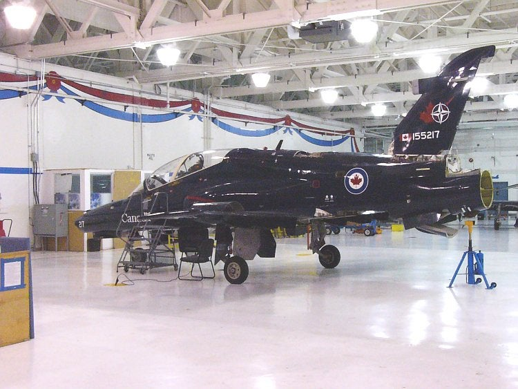 Royal Canadian Air Force's CT155 Hawk