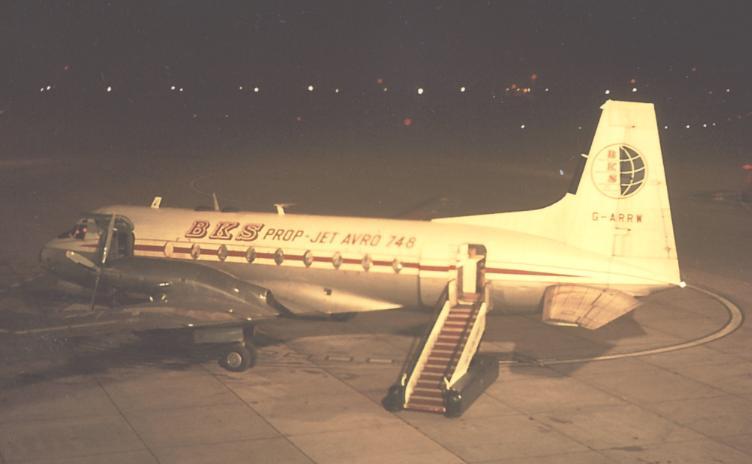 Avro HS-748 aircraft