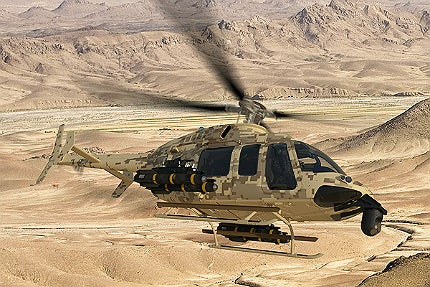 Bell 407GT Helicopter