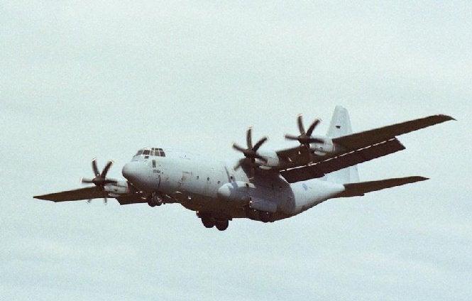 C-130J Hercules aircraft