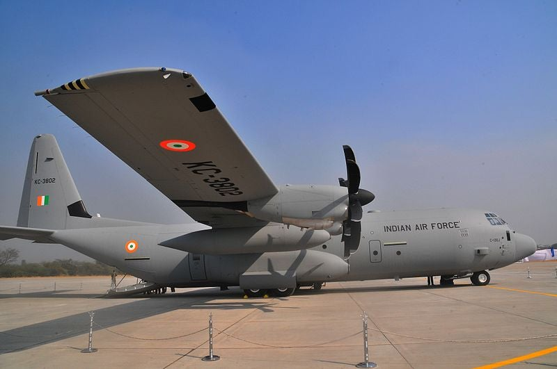 IAF C-130J aircraft