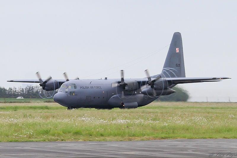C-130E aircraft