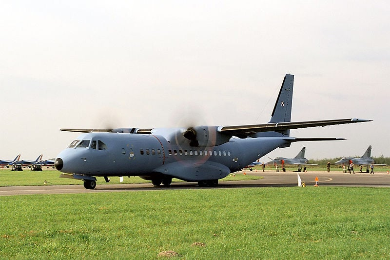C-295 transport aircraft