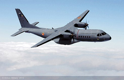 C-295M military tactical transport aircraf