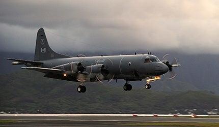 CP-140 Aurora Maritime Surveillance Aircraft
