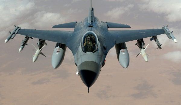 F-16 Block 50 aircraft