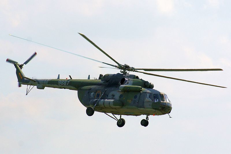 Mi-17sh helicopter