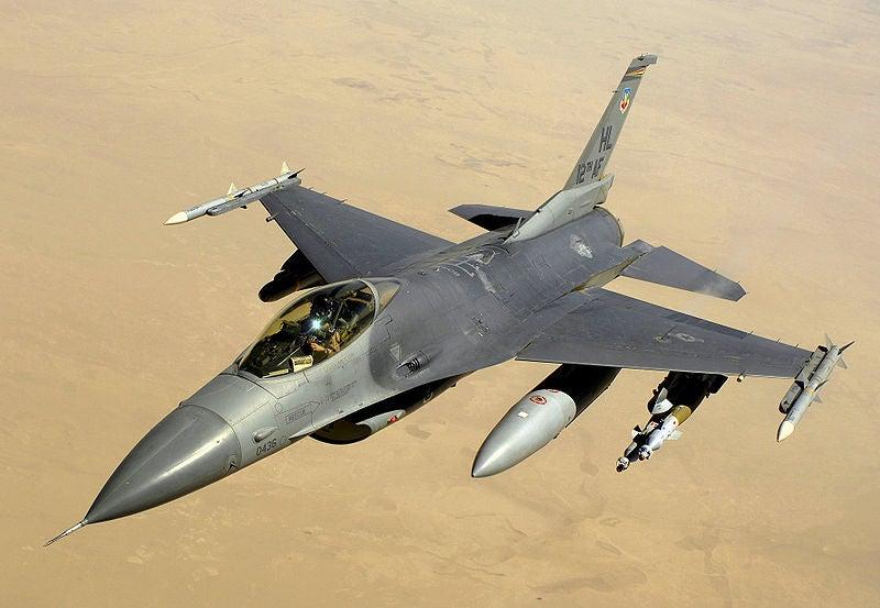 US F-16C fighter