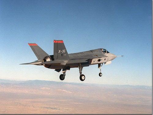 F-35 JSF aircraft