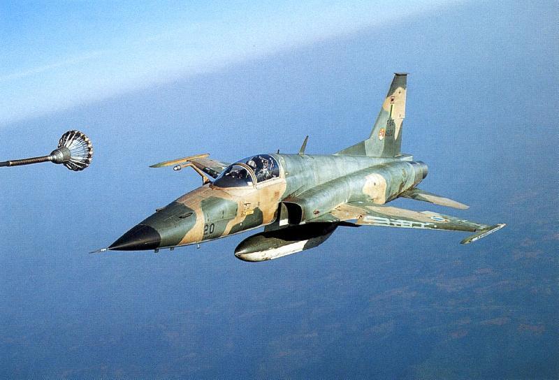 F-5M Tiger aircraft