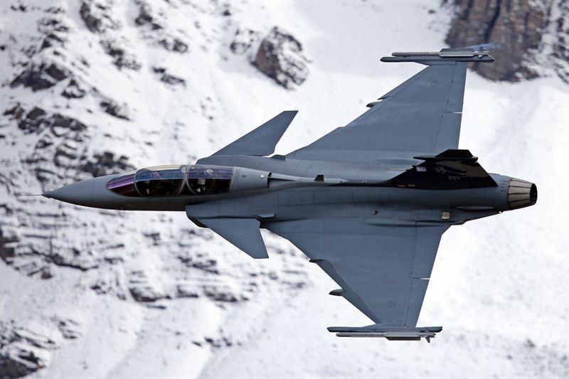 Gripen E/F aircraft