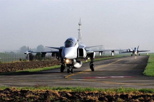 Gripen E aircraft