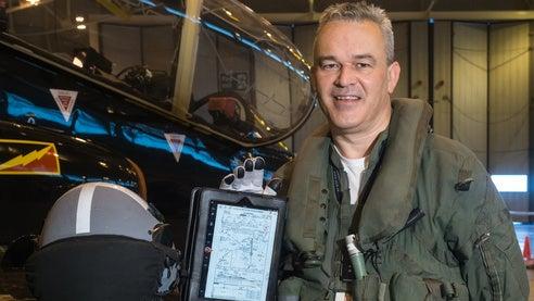 Hawk aircraft tablet
