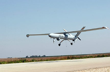 Hermes 450 is a multirole high performance tactical Unmanned Air System (UAS)