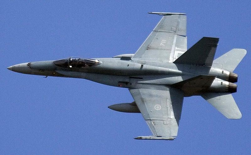 CF-18 Hornet fighter
