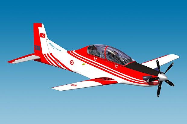 Hurkus aircraft