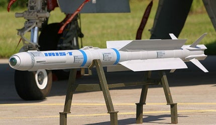 IRIS-T Air-to-Air Missile