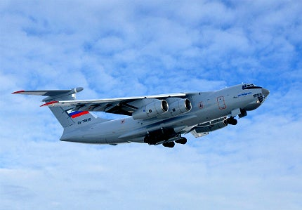 IL-76MD-90A is developed to transport a range of military equipment