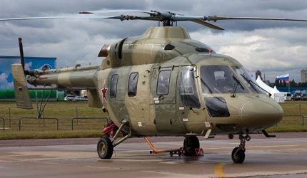 Kazan Ansat-U Trainer Helicopter