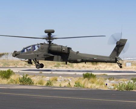 KAF AH-64D Apache Longbow helicopter