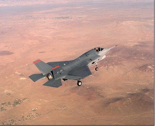 Lockheed Martin Lightning II Joint Strike Fighter (JSF) aircraft