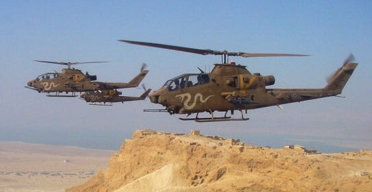 Israeli Air Force's AH-1 Cobra helicopter