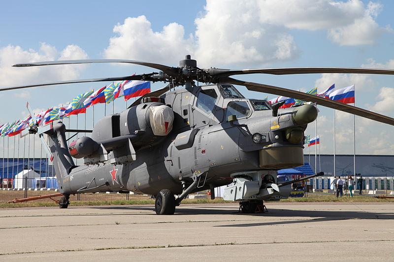Mi-28NE helicopter