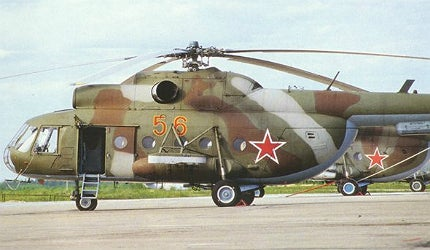 More than 12,000 Mi-8 (Nato codename Hip) multipurpose helicopters have been produced, with more than 2,800 exported