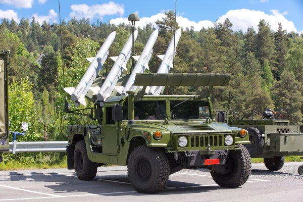 NASAMS launcher