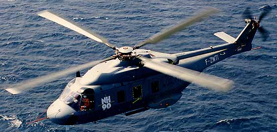 The NH 90 Helicopter