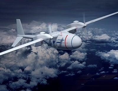Boeing-built High Altitude Long Endurance (HALE) unmanned combat air vehicle